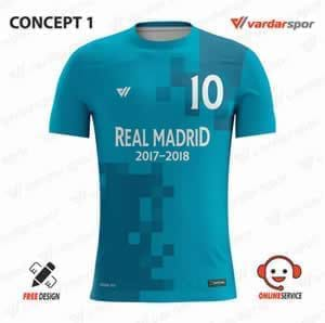 REAL MADRİD 2017-2018 FUTBOL FORMASI